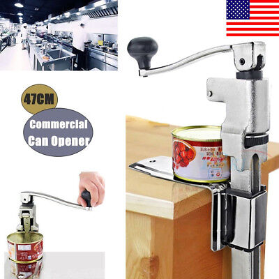 """13"""" Large Heavy-Duty Commercial Kitchen Restaurant Home Food Can Opener Table DR"""