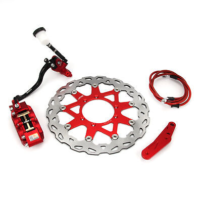 Super Front Brake Assembly 320mm Disc For CR125 CR250 CRF250R CRF450R CRF250X