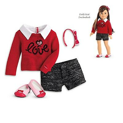 """American Girl LE GRACES CITY OUTFIT for 18"""" Dolls Doll Not Included Shorts NEW"""