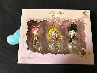 BANDAI Sailor Moon Twinkle Dolly Special Set (3 Figure) Shipping From JAPAN