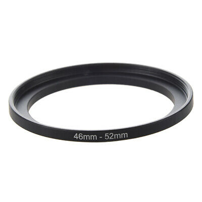 2X(Camera RepaiRing 46mm to 52mm Metal Step Up Filter Ring Adapter J7L8)