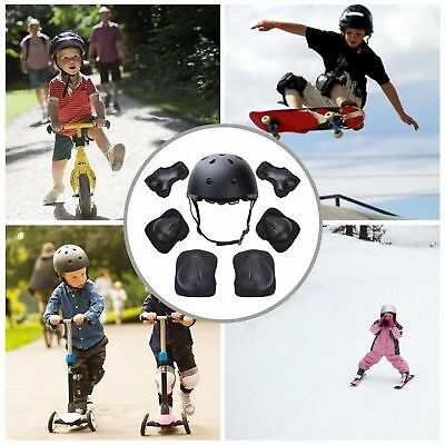 SKATEBOARD PROTECTION SET BIKE SCOOTER HELMET KNEE ELBOW WRIST PADs KIDS NEW