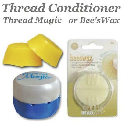 Thread Heaven or Beeswax Blocks, Bee's Wax Protectant Conditioner for Threads