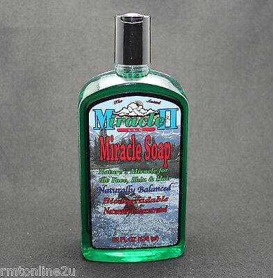 MIRACLE II SOAP 22 oz REG - SAFE IN WATER then SAFE WITH MIRACLE II   FREE SHIP