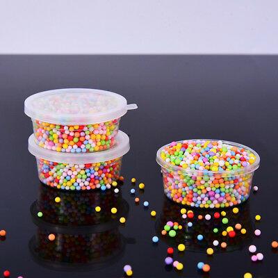 12 Pack Foam Ball Storage Glue Putty Containers with Lids for 20g Slime