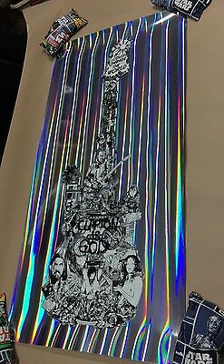 ERIC CLAPTON IS GOD ScreenPrint Poster Foil 1/1 if i could change the world Kako