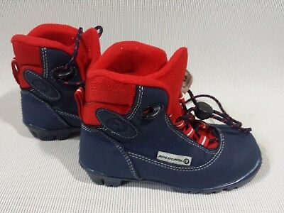 Rossignol Nnn Cross Country Ski Boots Youth Little Kid Us 11 Euro 28