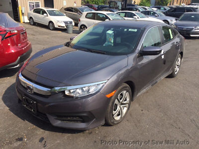2017 Honda Civic STORM DAMAGE RUNS AND DRIVES BODY IS PERFECT SHOWROOM NEW
