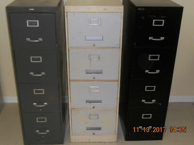 Metal File Cabinets, Used