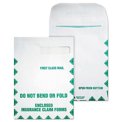 Quality Park Redi Seal Insurance Envelope First Class 9 x 12 1/2 White 100/Box