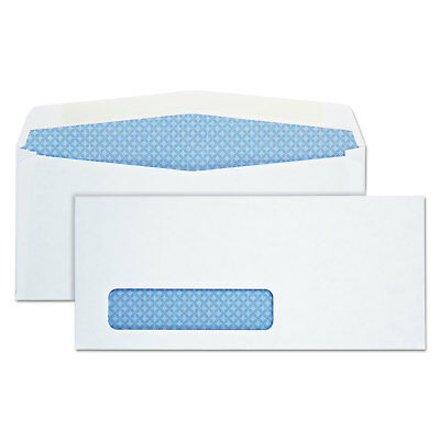 Quality Park Window Envelope Address Window #10 4 1/8 x 9 1/2 White 500/Box