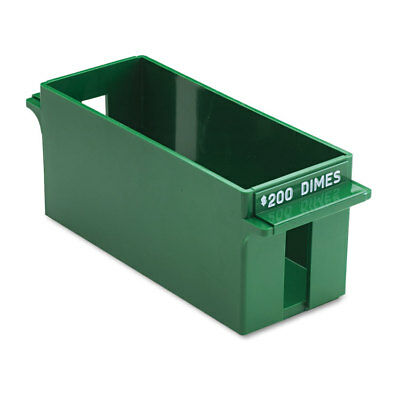 MMF Industries Porta-Count System Extra-Capacity Rolled Coin Plastic Storage