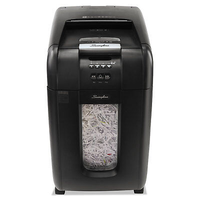 Swingline Stack-and-Shred 300X Auto Feed Super Cross-Cut Shredder 300 Sheet