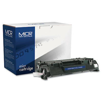 Micr Print Solutions Compatible with CE505XM High-Yield MICR Toner 6 000