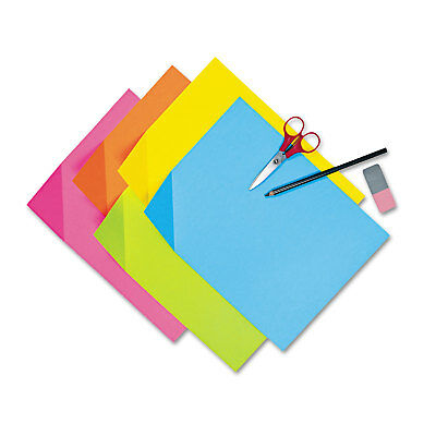 Pacon Colorwave Super Bright Tagboard 12 x 18 Assorted Colors 100 Sheets/Pack