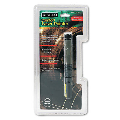 Quartet Class Two Classic Comfort Laser Pointer Projects 150 Yards Graphite Gray