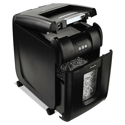 Swingline Stack-and-Shred 200X Auto Feed Shredder Super Cross-Cut 200 Sheets 1-5