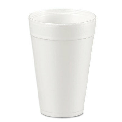 Dart Foam Drink Cups 32oz White 25/Bag 20 Bags/Carton 32TJ32