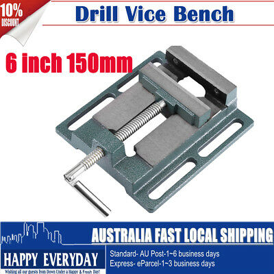 "6""/150mm Drill Press Vice Bench Clamp Woodworking Drilling Machine AU Shipping"