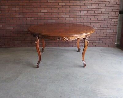 Country French Dining Table / Round Dining Table / Pierre Deux Style Table