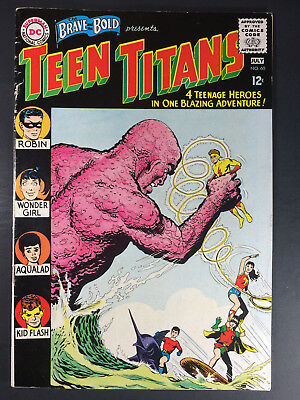 1965 DC Brave and the Bold Presents Teen Titans #60 1st Wonder Girl