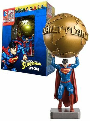 Figurine DC Super Hero Collection, Special Superman, Daily Planet (Eaglemoss)