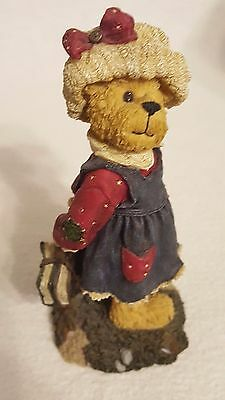 The Boyds Bears Collection Resin Bailey School Studies Summer Vintage Decoration