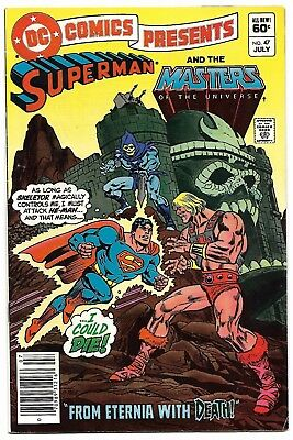 DC Comics Presents #47 (1982) 1st Appearance of He-Man & Masters of The Universe