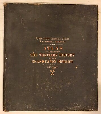B83 Atlas of the Tertiary History of the Grand Canyon CD