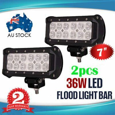 7Inch 36W Cree Led Spot Beam Driving Offroad Work Light Bar Lamp Suv 4Wd-180W Ip