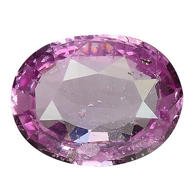 1.389Cts EXCELLENT PINK NATURAL CERTIFIED UNHEATED SAPPHIRE OVAL GEMSTONES
