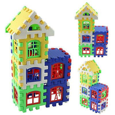 Baby Kids Child House Building Block Educational Developmental Toy Brain Game SK