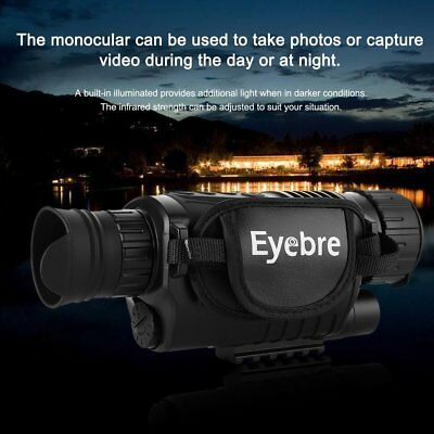 Digital HD Infrared Night Vision 5X40 Monocular Hunting Video Telescope Scope XY