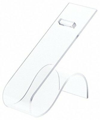 "Plymor Brand Clear Acrylic Shoe Display Rest, 2"" W x 4.5"" D x 4.75"" H"