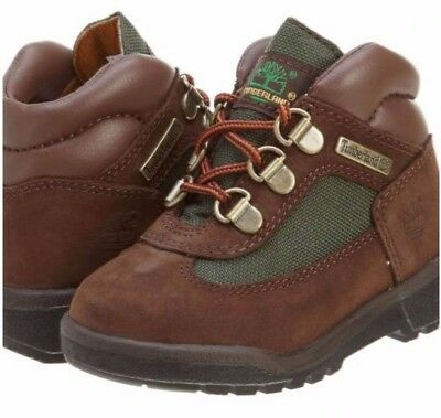 Timberland 6 Inch Field Boot Toddler Brown Olive Nubuck 16837 Classic Boys Girls