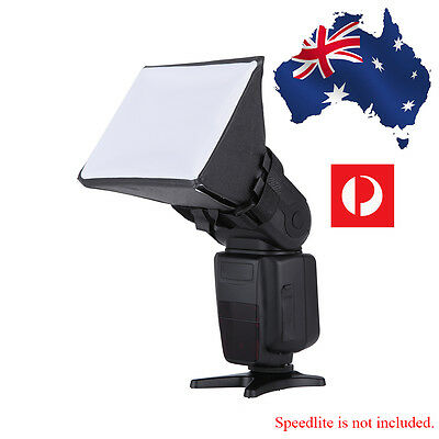 Flash Diffuser Studio Soft Box Universal Speedlite Nikon Canon Pentax Sony DSLR