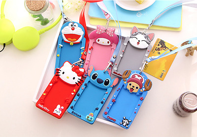 Cute card case holder Bank Credit Card Holders Cover Bus ID Holders Identity