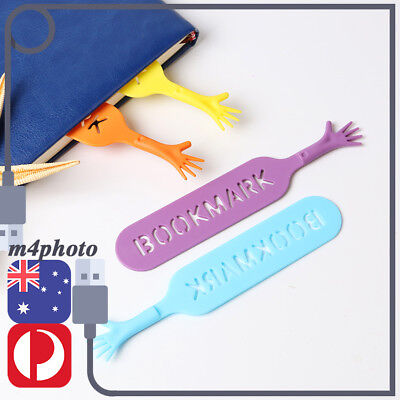 4pcs Cute Funny HELP ME Hand Bookmark Note Pad Memo Book Mark Stationery Gift