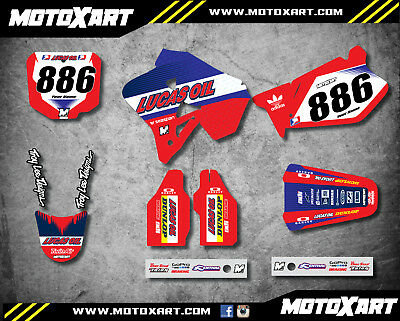 Honda CR 125 1995 1996 1997 Full Custom Graphic Kit ACTIVE STYLE stickers decals