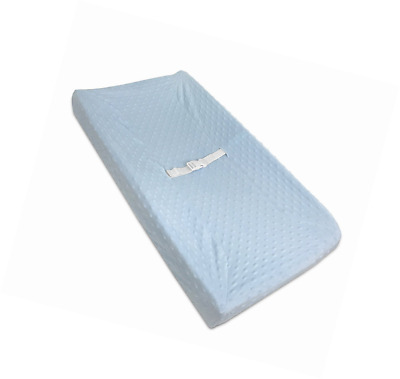 American Baby Company Heavenly Soft Minky Dot Fitted Contoured Changing Pad Cove