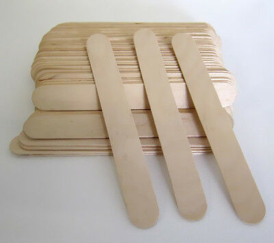 Wooden Waxing Wax Spatula Tongue Depressor Disposable Bamboo Sticks Tool
