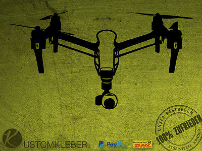 DJI Inspire 1 Sticker Aufkleber Decal Phantom 3