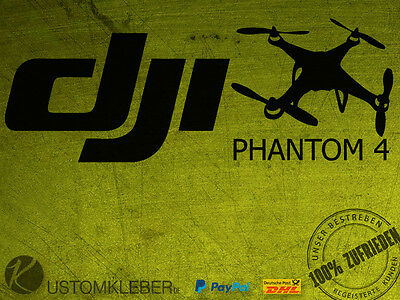DJI PHANTOM 4 Sticker Aufkleber Decal MAVIC INSPIRE