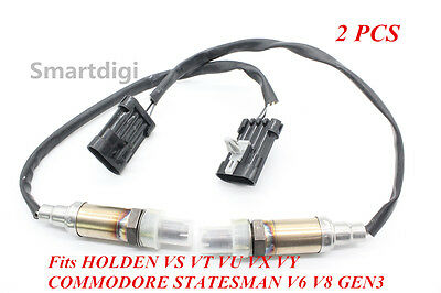 2 Oxygen Sensor 4 Wire for HOLDEN 3.8L VS VT VX VY VZ VE LS1 LS2 6L