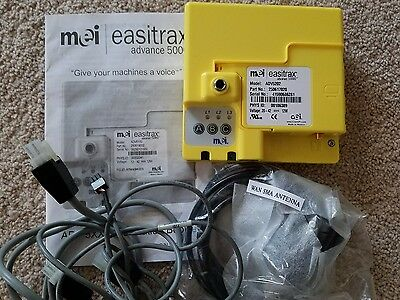 Mei easitrax advance 5000 telemetry box and cables  for vending machine