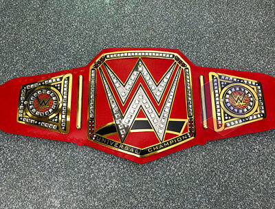 4MM, WWE Universal Championship Wrestling Belt NO MERCY Edition