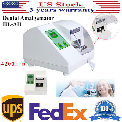 HL-AH Dental Amalgamator Amalgam Capsule Mixer Blender High Speed 4200rpm