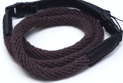 Brown Woven Cotton Rope Camera Strap with loop connection by Cam-in - 95cm