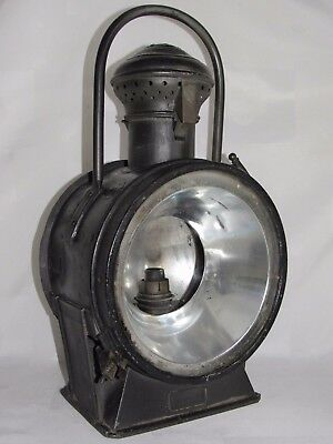 09D24 Ancienne Lampe Lanterne Gillet Forest Chemin De Fer Train Locomotive Sncf