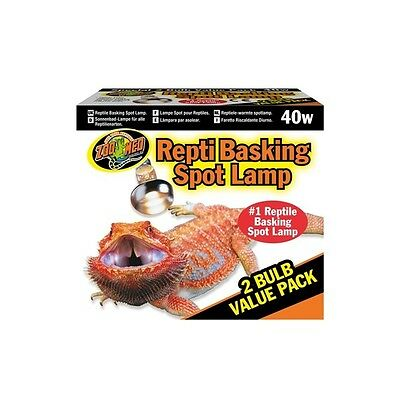 Lampe Repti Basking 40W Packung 2 Stück Zoomed